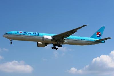 KOrean Air Vliegtuig