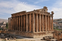 Baalbek tempel Libanon