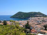 Stad Terceira Azoren