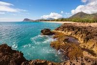 Oahu Island strand Hawaii