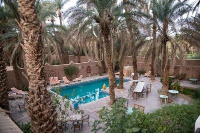 Zwembad Hotel Zagora Marokko