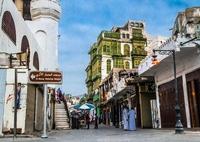 Straat Jeddah Saoedi-Arabie