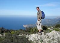 Kust wandelaar Mallorca
