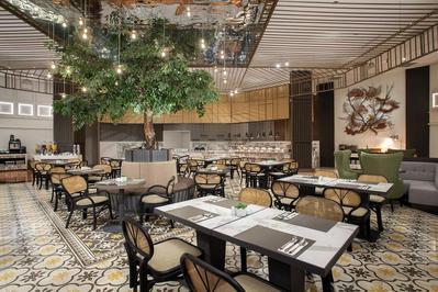 Ontbijtzaal hotel Indonesië Djoser