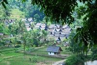 Kampung Naga Java Indonesië