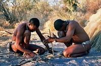 Khoisan Bosjesmannen Botswana