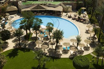 Aetabe Hotel zwembad Luxor Egypte