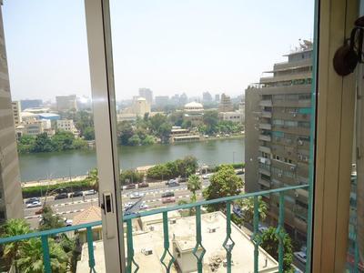 Pharaohs Hotel uitzicht Cairo Egypte