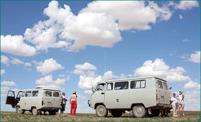 Transsiberië expres minivan rondreis Djoser
