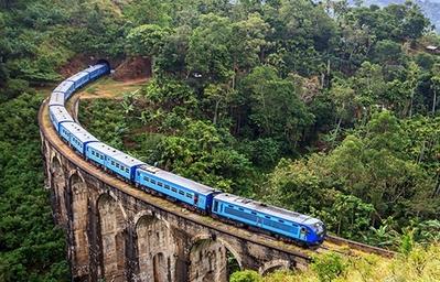 Treinreis naar Ella Sri Lanka