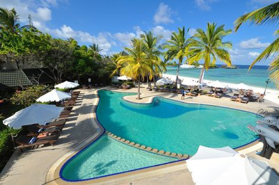 Zwembad Paradise island resort Malediven