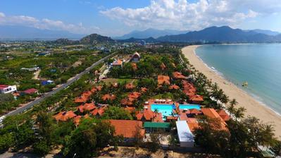 Phan Rang TTC resort Aerial