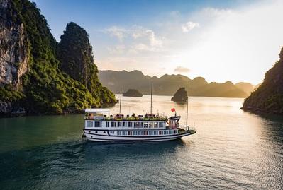 Halong baai boot Vietnam