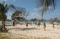 Varadero volleybal strand Cuba