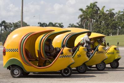 Cuba Havana coco taxi
