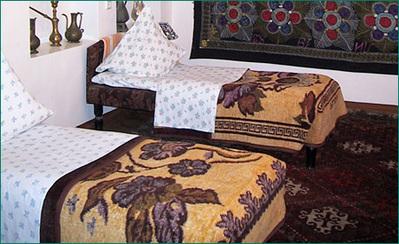 Iran Turkmenistan Oezbekistan hotel accommodatie overnachting rondreis hotel Djoser