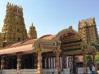 Hindoe tempel Jaffna Sri Lanka