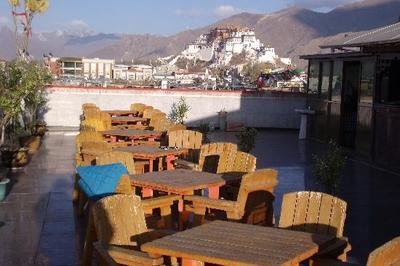 Yak Hotel Lhasa dakterras