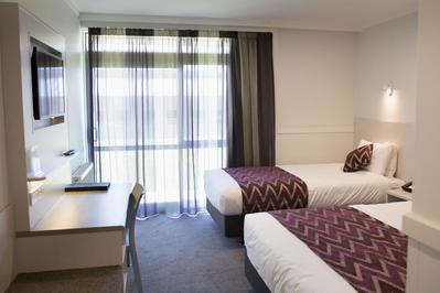 Wanaka Hotel kamer Nieuw-Zeeland