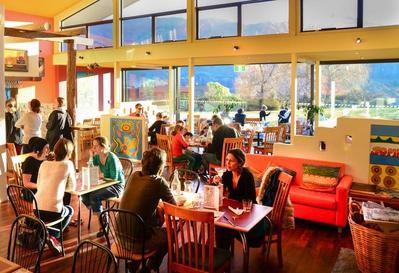 Wanaka Hotel restaurant Nieuw-Zeeland