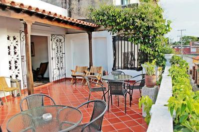 Hotel Villa Colonial balkon Cartagena Colombia