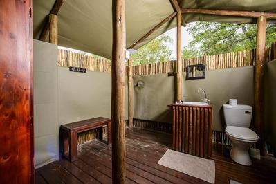 Accomodatie tented camp Zuid Afrika