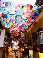 Iran kleurrijke straat