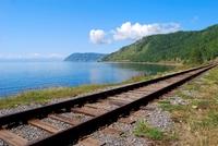 Baikal meer spoor Rusland
