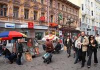 Straat Moskou Rusland
