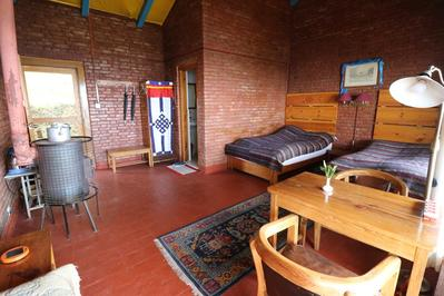 Farmhouse resort kamer Nagarkot Nepal