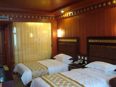 Yak hotel kamer Lhasa Tibet
