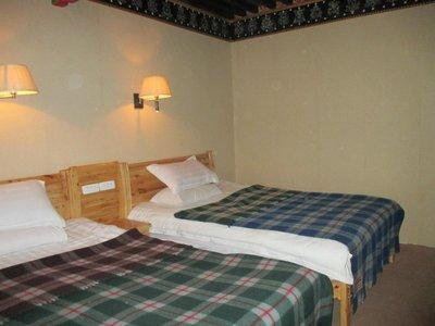 Hotel Snow Leopard guesthouse kamer Tingri Tibet