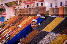 Rusland Kazan markt
