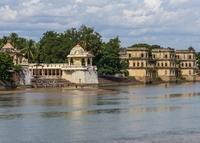 Thanjavur, India Shiva tempel Kauveryrivir