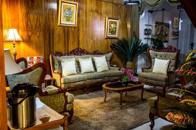 Hotel El Buho bibliotheek Puno Peru