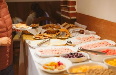 Hotel El Buho ontbijt Puno Peru