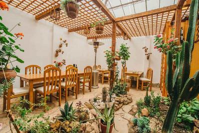 Hotel El Buho restaurant Puno Peru