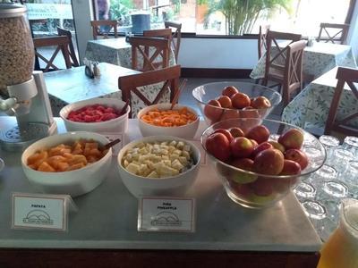 Hotel El Huacachinero ontbijt Huacachina Peru