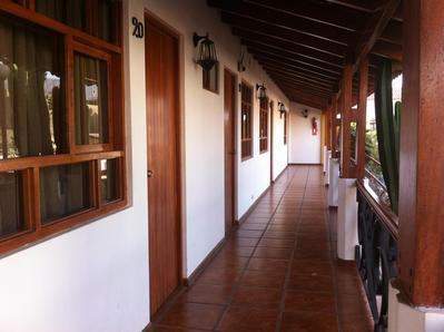 Hotel Oro Viejo gallerij Nasca Peru