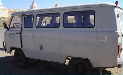 Tanssiberië express minivan rondreis Djoser