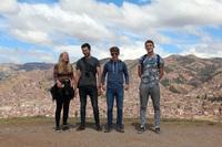 Family jongeren kinderen Peru Cusco