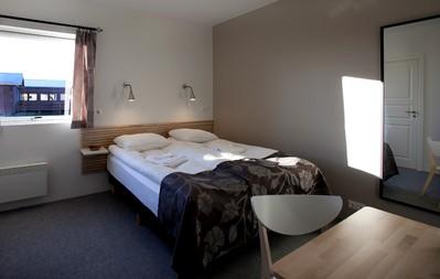Hrauneyjar hotel Slaapkamer IJsland