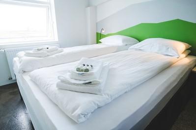 Midgard Basecamp slaapkamer Hvolsvöllur IJsland