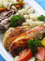 Eten maaltijd Costa Rica