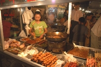Eten markt China