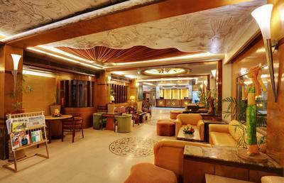 Amar Hotel Agra receptie India