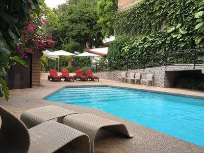 Hotel La Ceiba zwembad Chiapa de Corzo