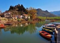 Montenegro Virpazar Skadar meer