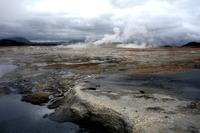 Namaskard modderpoelen IJsland