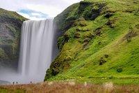 Skogafoss Waterval IJsland